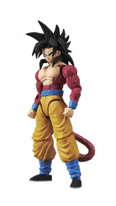 SUPER SAIYAN 4 SON GOKOU Figurka DRAGON BALL Model Kit BANDAI