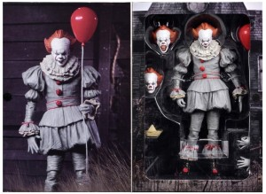 PENNYWISE 2017 Figurka 18 cm Horror IT