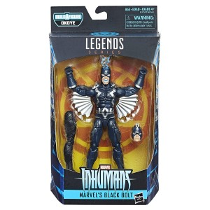 BLACK BOLT Figurka 15 cm Marvel Legends OKOYE BAF