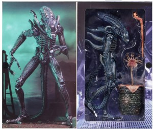 ALIEN WARRIOR ULTIMATE Blue figurka 23 cm NECA