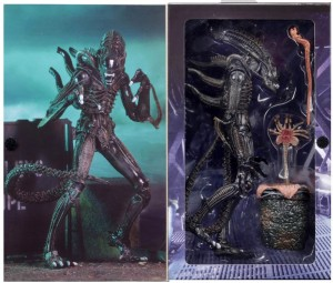 ALIEN WARRIOR ULTIMATE Brown figurka 23 cm NECA