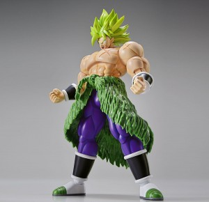 SUPER SAIYAN BROLY FULL POWER Figurka DRAGON BALL Model Kit BANDAI