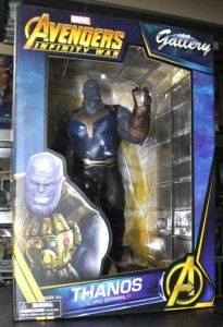 THANOS Statua 23 cm AVENGERS Infinity War Marvel SELECT