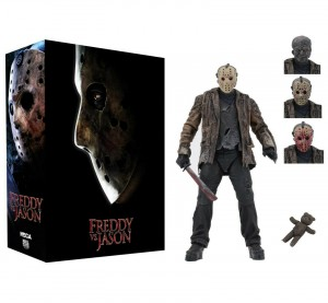 JASON VOORHEES Figurka 18 cm NECA FREDDY vs JASON