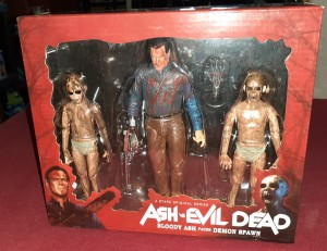 ASH VS DEMON SPAWN Figurki ASH vs EVIL DEAD NECA