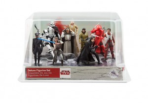 Zestaw 10 figurek 10 cm z filmu STAR WARS The Last Jedi