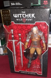 GERALT of Rivia Figurka 18 cm Wiedźmin The Witcher McFarlane Gold Label