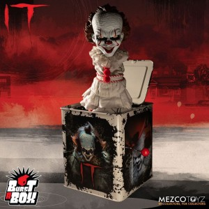 PENNYWISE Music Box Stephen King horror IT 36 cm