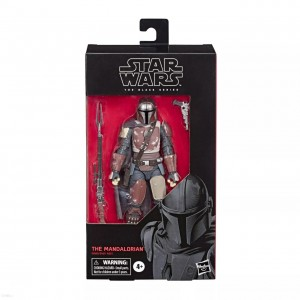 MANDALORIAN Figurka 15 cm STAR WARS BLACK SERIES