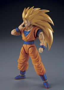 SUPER SAIYAN 3 SON GOKOU Figurka DRAGON BALL Model Kit BANDAI