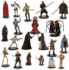Zestaw 20 figurek 6-11 cm STAR WARS Disney